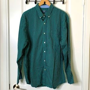IZOD XL Plaid Shirt